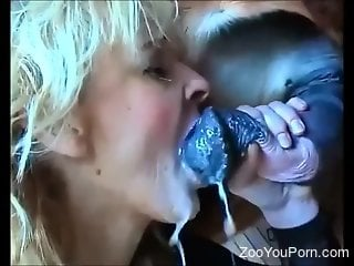 Compilation of the hottest bestiality blowjobs ever